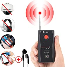 Bug Detector, RF Anti-Spy Wireless Detector,Hidden Camera Pinhole Laser Lens GSM Device Finder,Full-Range All-Round Portable Detector For Eavesdropping, Candid video, GPS Tracker Laser by JONYJ