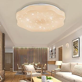 YESDA LED Deckenleuchte Deckenbeleuchtung Wohnzimmer Deckenlampe Korridor Schlafzimmer  Schönes Mordern Lampe (36W Warmweiß)