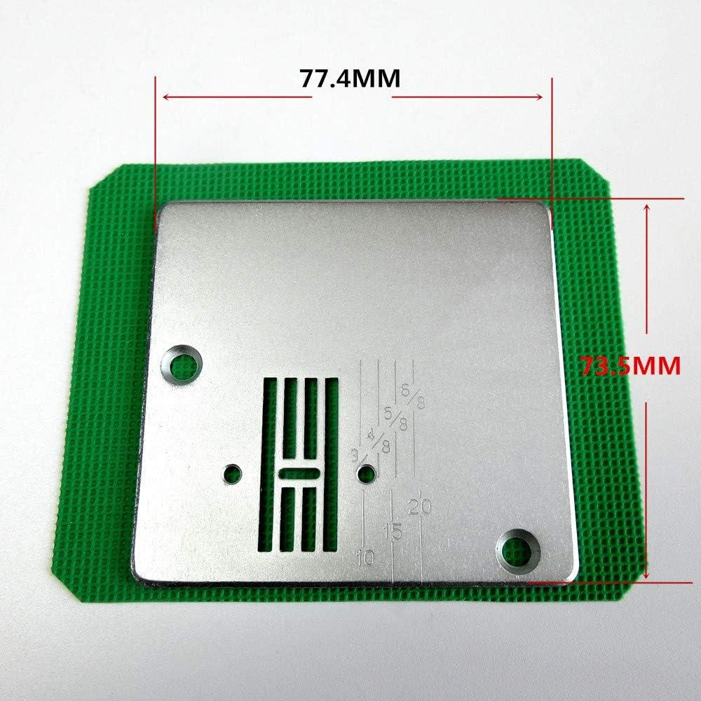 Aiguille plaque de gorge pour machine /à coudre domestique 811Atf