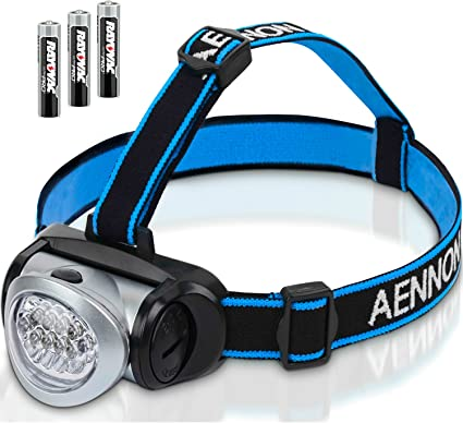 4 modes Lightweight CREE LED Waterproof Aennon LED Head Torch Super Bright