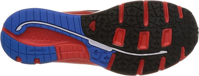 Salomon Sense Link - para Hombre, Black/Bright Red/Union Blue, Talla 40.6666666666667: Amazon.es: Zapatos y complementos