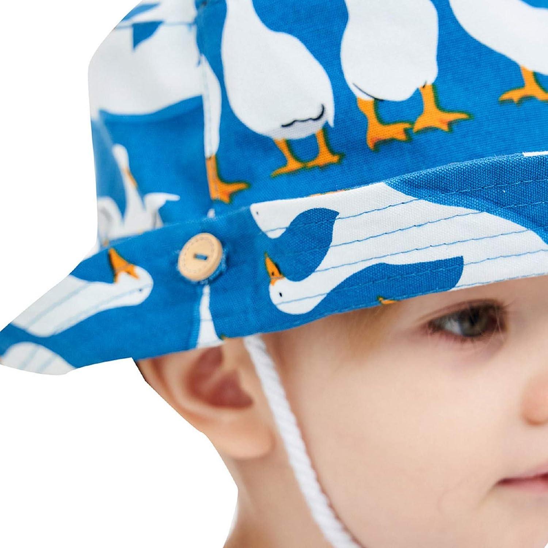 baskuwish Baby Boy Sun Hat,Reversible Toddler Beach Sun Protection Bucket Hat Breathable Summer Duck Hat