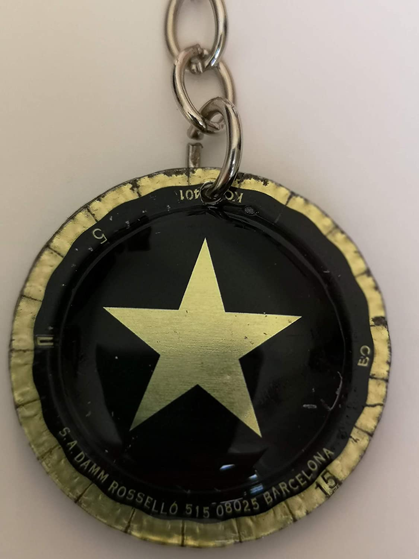 Llavero Estrella Damm Inedit Oro cerveza: Amazon.es: Handmade
