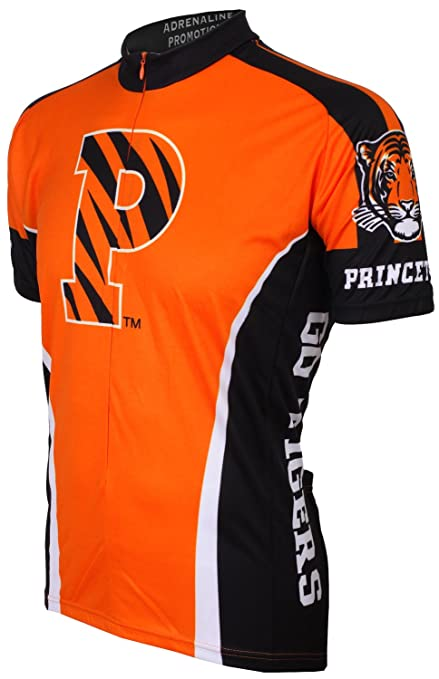 buy popular ec2a5 19c64 NCAA Princeton Tigers Cycling Jersey