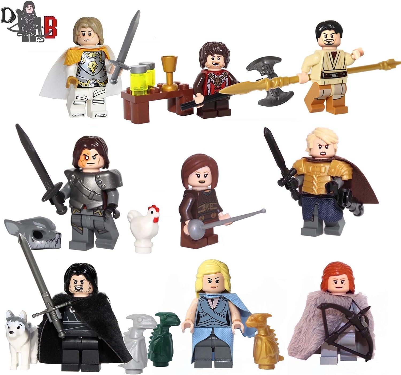 Custom Game of Thrones 9 Pack - Made Using Genuine & Custom Pieces.
