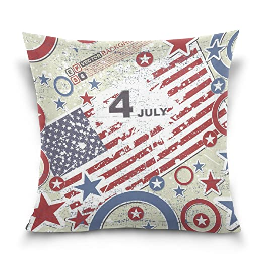 Amazon.com: Square Decorative Throw Pillow Case Cushion ...