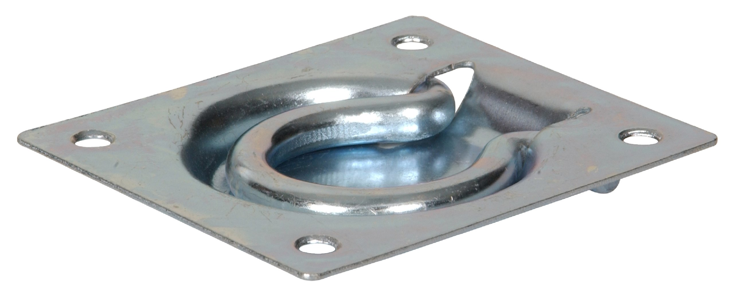 The Hillman Group 851378 3 x 3-1/2-Inch Flush Trap Door Ring, Zinc Plated