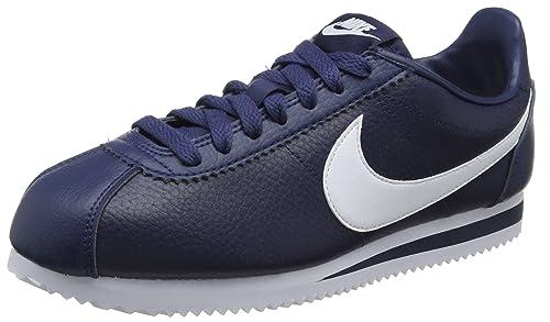 best website 59a2e 7561a Nike Classic Cortez, Zapatillas de Gimnasia para Mujer  Amazon.es  Zapatos  y complementos
