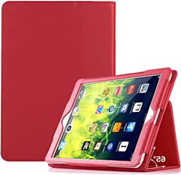Amazon Com Case For Apple Ipad Mini 4 And Ipad Mini 5 7 9 Inch Smart Cover Etui With Stand Feature Red Computers Accessories