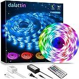Led Lights,dalattin Led Strip Lights 16.4ft Waterproof Color Changing Multicolor Led Rope Lights with 44 Keys Remote…