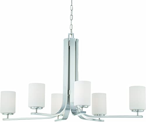 Thomas Lighting SL806978 Pendenza Collection 6 Light Chandelier