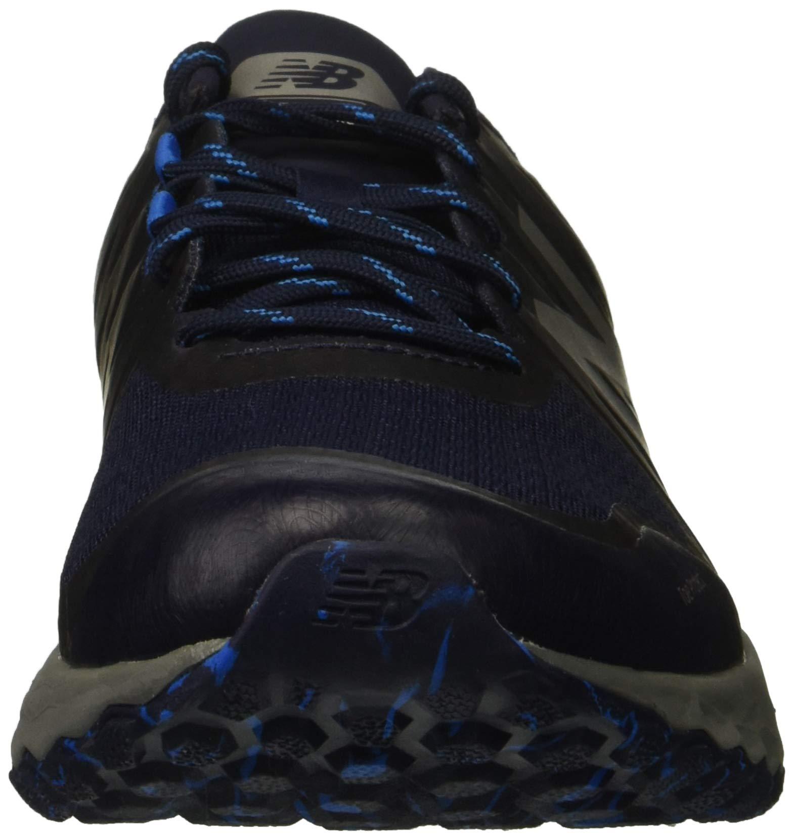 New Balance Men's Kaymin V1 Fresh Foam Trail Running Shoe Pigment/Laser Blue 1.5 D US by New Balance (Image #4)