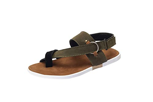a17481006 Shoegaro Men Mehndi Green Casual Party Sandals  Buy Online at Low Prices in  India - Amazon.in