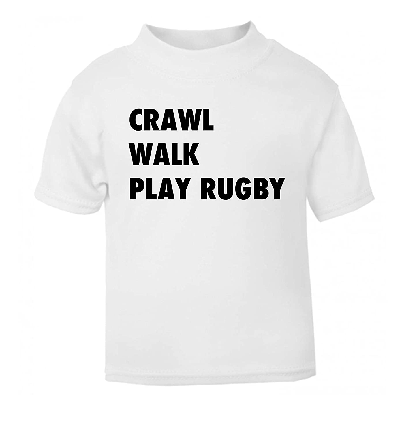 Flox Creative Baby T-Shirt Eat, Sleep, Play Rugby: Amazon.co.uk: Clothing