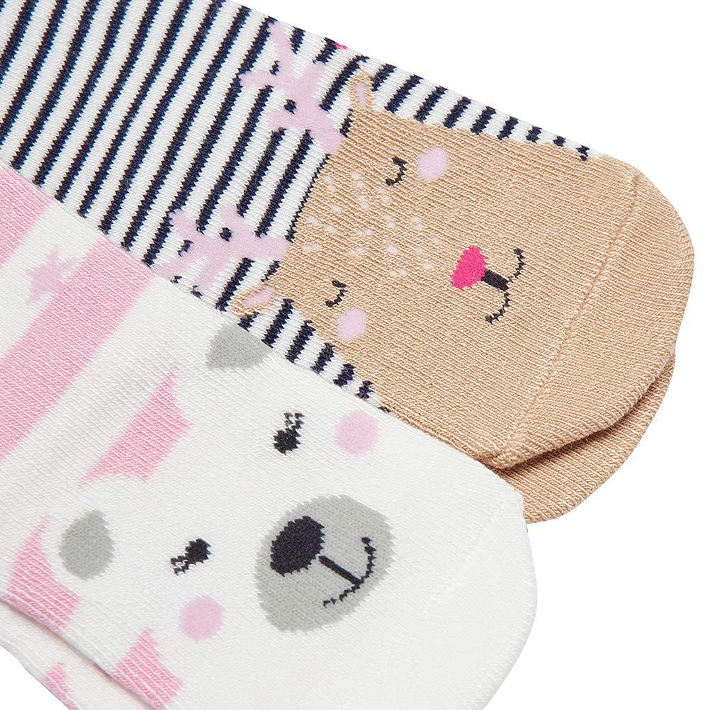 Joules Baby Christmas Socks 2 Pack Polar Bear