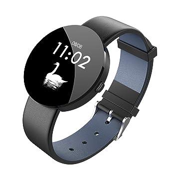 KANGLE Montre Connectée,Tracker dActivité Écran Coloré avec Moniteur de Sommeil, Réveil