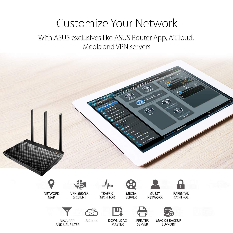 Generation 1 AiRadar MU-MIMO Tech 3G/4G ASUS RT-AC85P