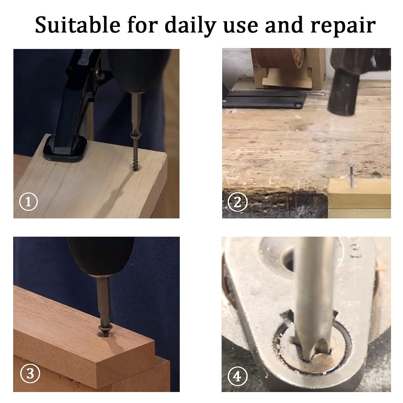 Phillips Drive Flat Head 5 x 40mm Screw Self Drilling 304 Stainless Steel Drywall Wood Screws 50Pcs