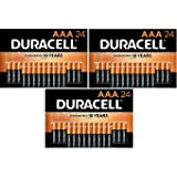 Duracell - CopperTop AAA Alkaline Batteries - Long Lasting, All-Purpose Triple A Battery for Household and Business - 72…