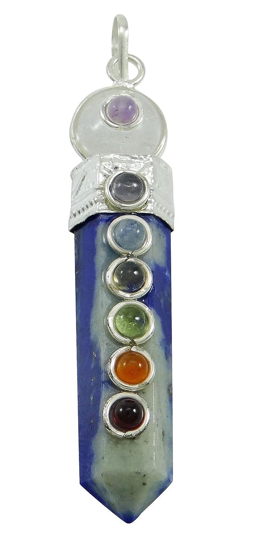 Harmonize Shungite Stone Pencil Wand Pendant Balancing 7 Chakra Balancing Therapy Reiki Healing Crystals CDJ257A-1