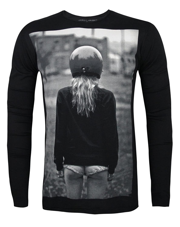 Blood Is The New Black Hot Pants Men's Long Sleeve T-Shirt