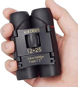 Sweepstakes - HCW CREATE 12x25 Mini Folded Binocular...
