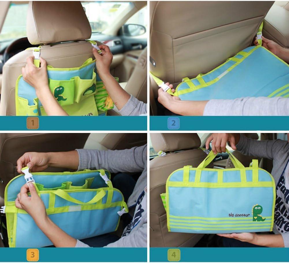 organizador para ni/ños HomDSim Organizador de asiento de coche con dise/ño de dibujos animados organizador de coche Mushroom bolsas de almacenamiento para colgar
