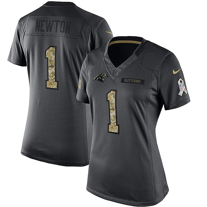half off 278dc 37b28 Women's Medium Cam Newton Carolina Panthers Salute To ...