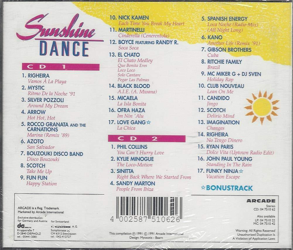 Sunshine Dance (1991) - Righeira, Silver Pozzoli, Azoto, Fun ...