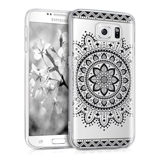 3 opinioni per kwmobile Cover per Samsung Galaxy S6 / S6 Duos- Custodia in silicone TPU- Back