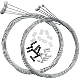 Dymoece Bicycle Derailleur Shifter Cables,Brake Cables Set for Shimano Sram Road Mountain Bike