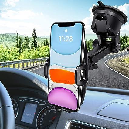 Mpow Porta Cellulare da Auto, Supporto Auto Smartphone con Ventosa