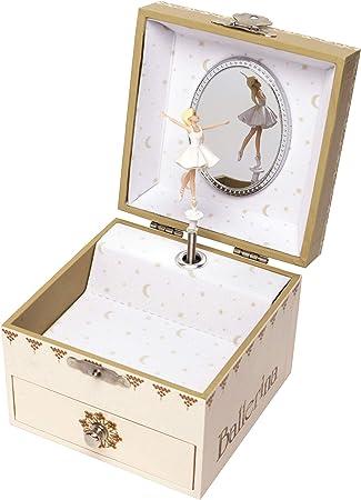 Trousselier, pequeña caja de música con diseño de Ballerina ...