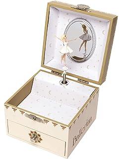 Zilverstad 7419231 - Caja de música joyero Bailarina: Amazon.es: Hogar