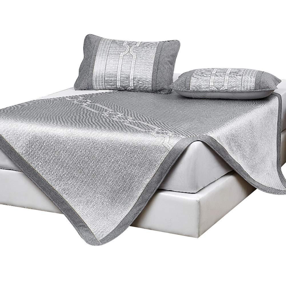 GUORRUI ベッドパッド敷きパッド 夏 アイスシルク さわやか 吸水 環境を守ること ダブルベッド 寝室、 8つの様式、 2サイズ (色 : I, サイズ さいず : 1.8x2m) B07SCPSGY3 I 1.8x2m