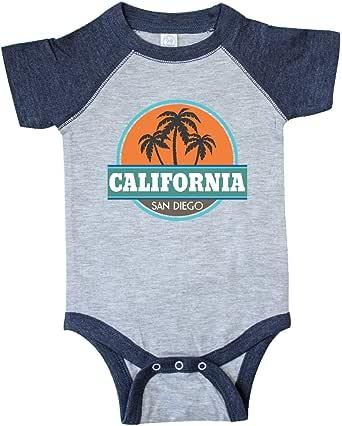 Amazon.com: inktastic San Diego California Infant Creeper