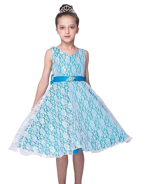 d59fa0be5 Lo mejor niña Punta pequeño Vestidos de novia boda Vestidos Princesa  Cinturón para vestido de noche