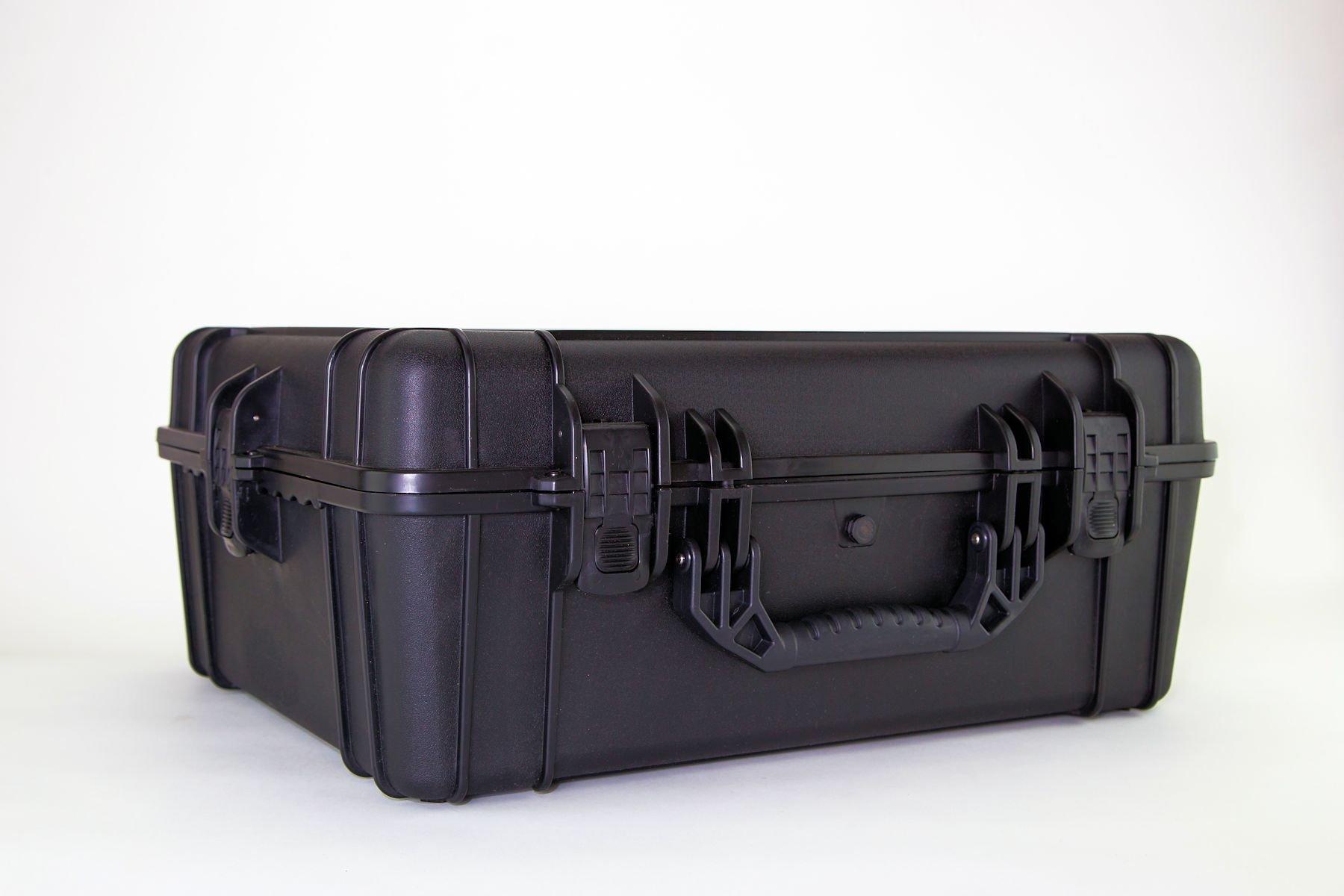 Condition 1 25'' XL #839 Black Waterproof Trunk with DIY Customizable Foam