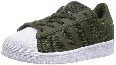 adidas Originals Boys  Superstar Glitter MESH C Running Shoe 7352183dbc