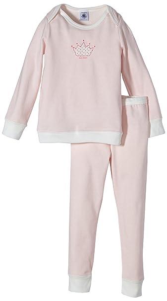 Petit Bateau – Pijama 34206 Color Rosa Corona