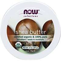 Now Foods Shea Butter Org, 85 Grams