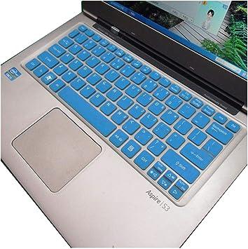 Funda de Silicona para Teclado Acer S3 S5 V5 171 V5 121 V5 ...