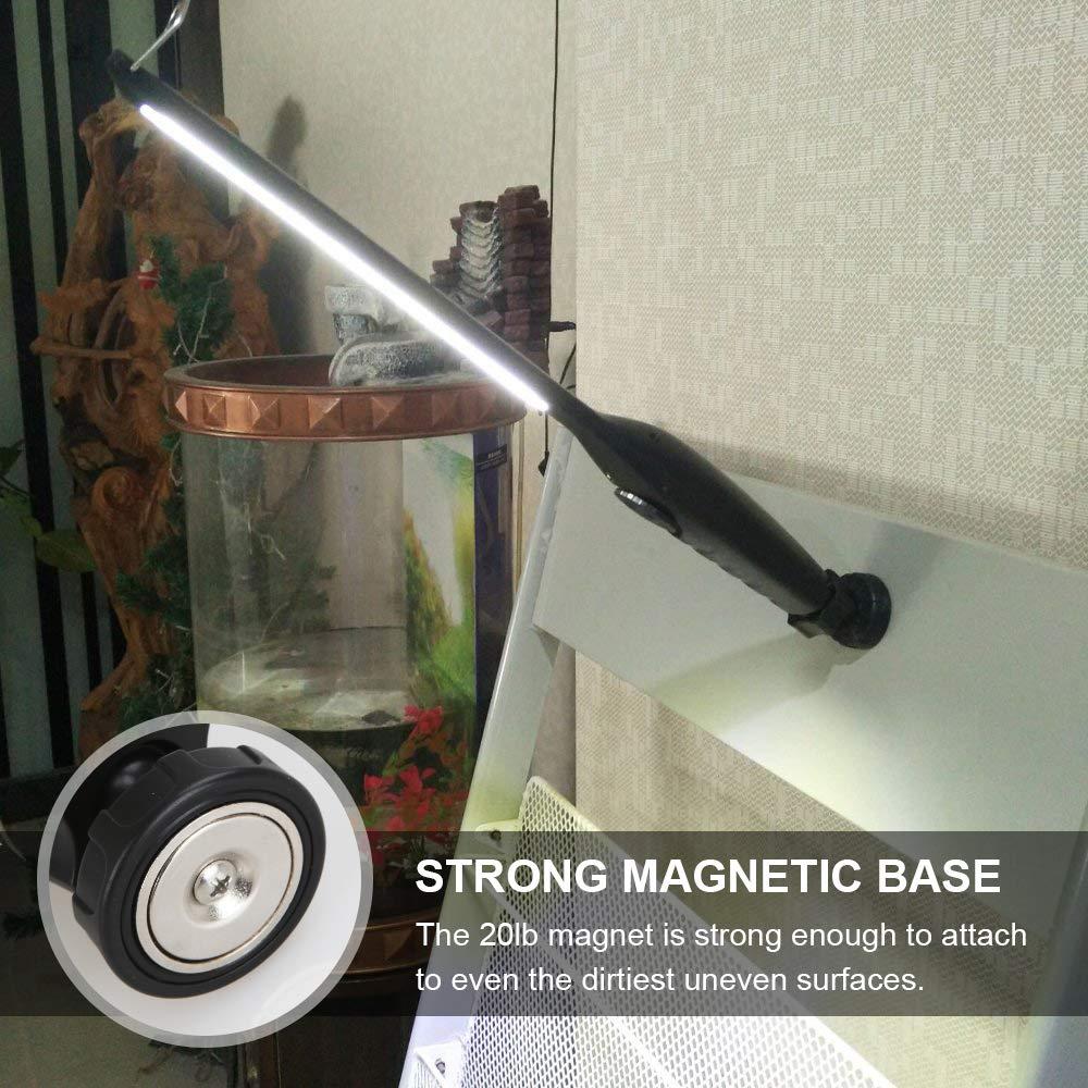 usb cob led arbeitsleuchte kfz taschenlampe stablampe. Black Bedroom Furniture Sets. Home Design Ideas