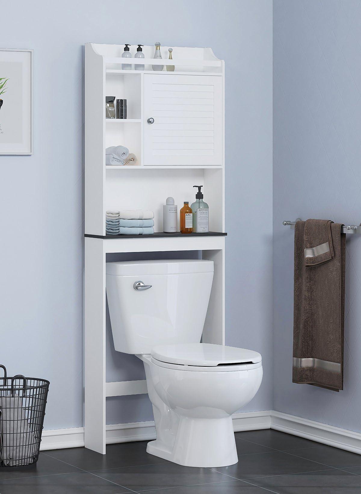 over the toilet storage amazon com rh amazon com