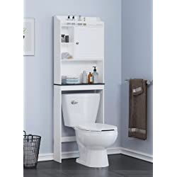 Over Toilet Cabinet White