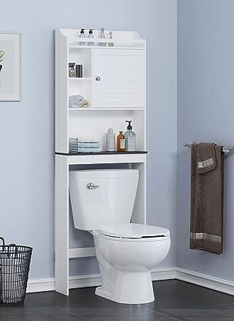 Amazon Spirich Home Bathroom Shelf Over The Toilet Bathroom