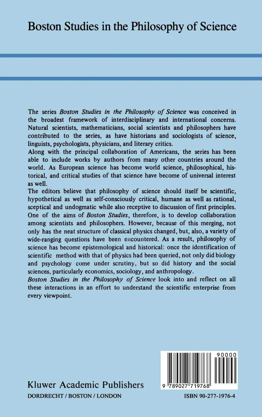 Spinoza and the Sciences (Boston Studies in the Philosophy and History of Science)