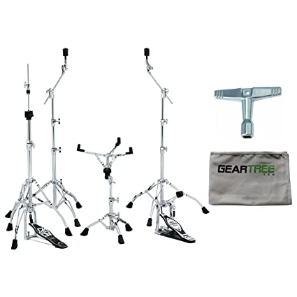 Amazon.com  Tama MM5WN Stage Master 5pc Hardware Kit w Cleaning Cloth and  Drum Key  Musical Instruments c72b30d9d7b1