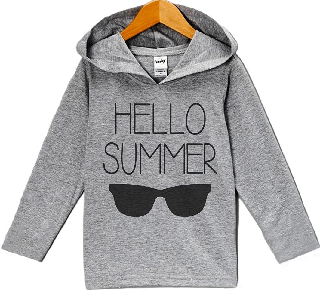 Custom Party Shop Unisex Baby Hello Summer Hoodie Pullover