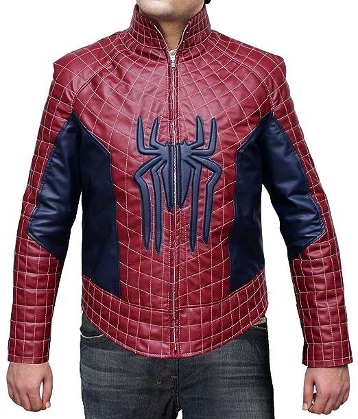 The Amazing Spiderman 2 Leather Jacket - La chaqueta de cuero Amazing Spiderman 2 (M